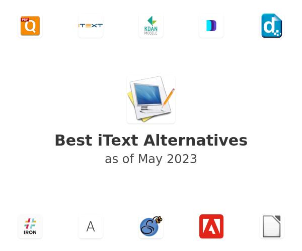 Best iText Alternatives