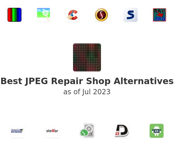 Best JPEG Repair Shop Alternatives