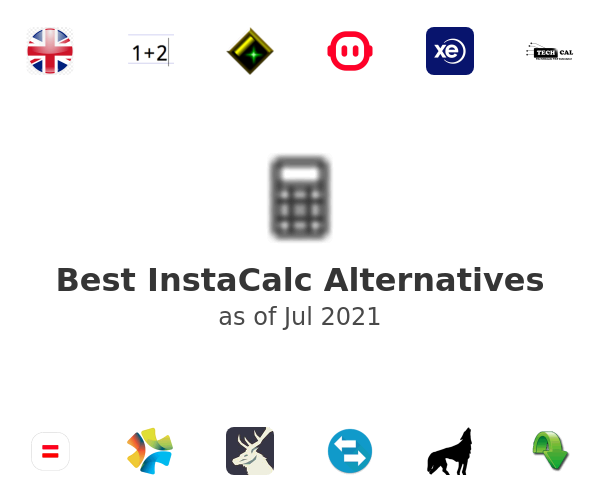 Best InstaCalc Alternatives