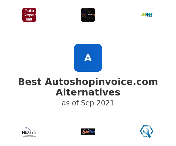 Best Autoshopinvoice.com Alternatives
