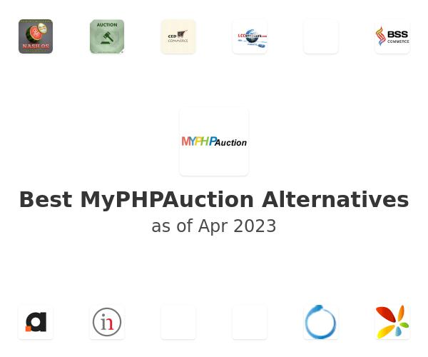 Best MyPHPAuction Alternatives