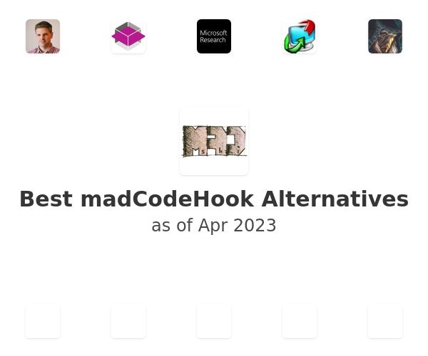 Best madCodeHook Alternatives