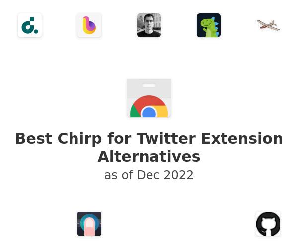 Best Chirp for Twitter Alternatives