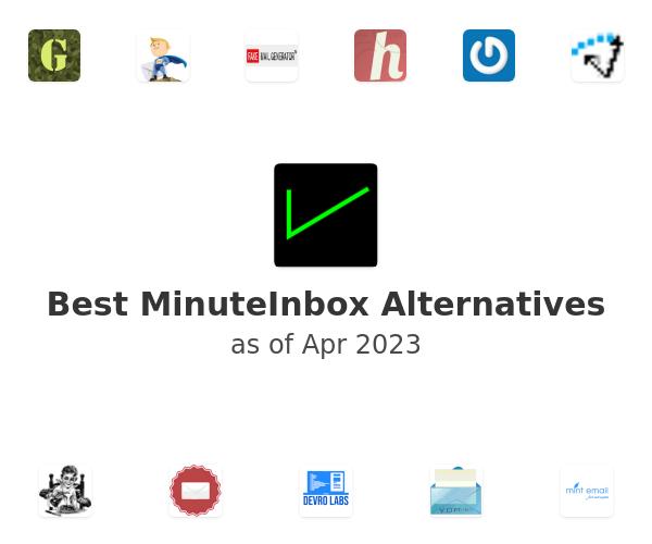 Best MinuteInbox Alternatives