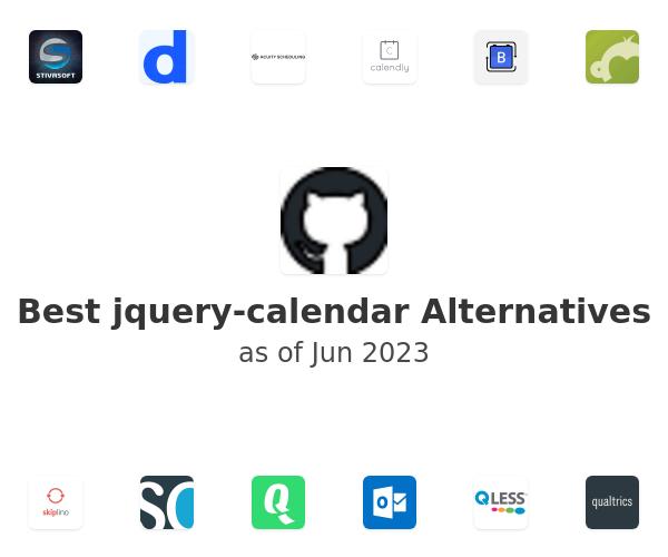 Best jquery-calendar Alternatives