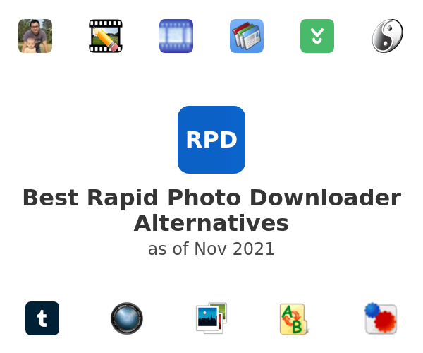 Best Rapid Photo Downloader Alternatives