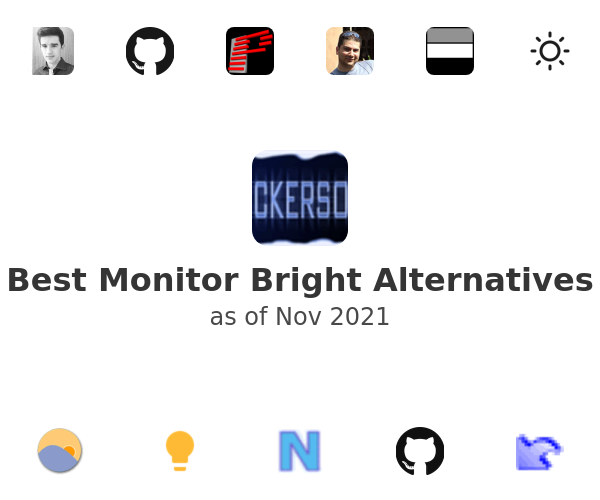 Best Monitor Bright Alternatives