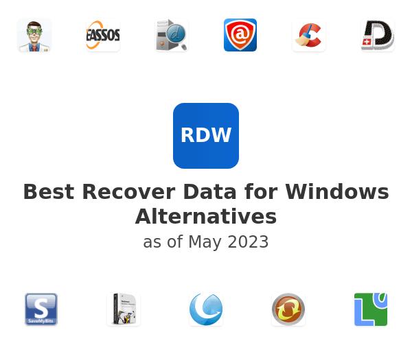 Best Recover Data for Windows Alternatives