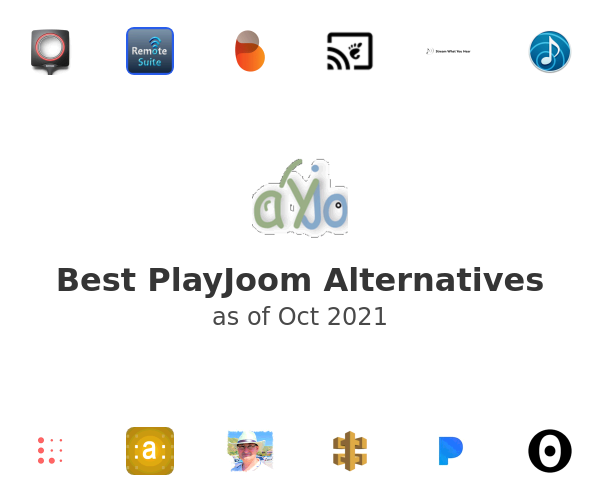 Best PlayJoom Alternatives