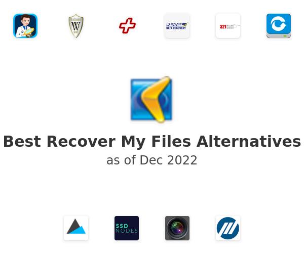 Best Recover My Files Alternatives