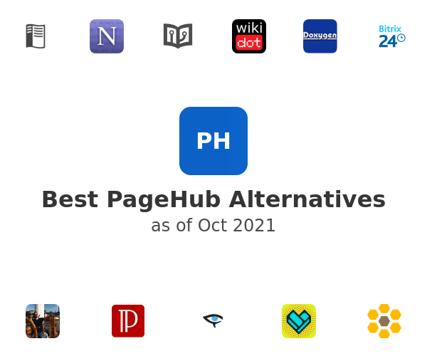 Best PageHub Alternatives