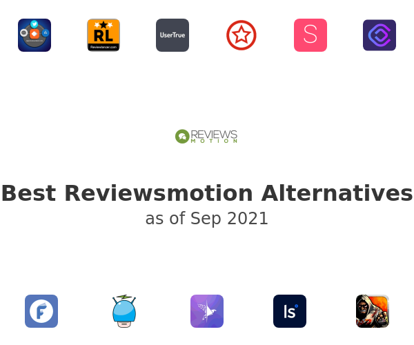 Best Reviewsmotion Alternatives