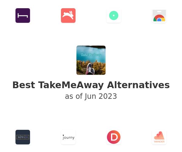 Best TakeMeAway Alternatives