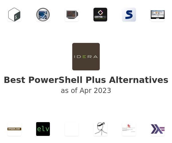 Best PowerShell Plus Alternatives