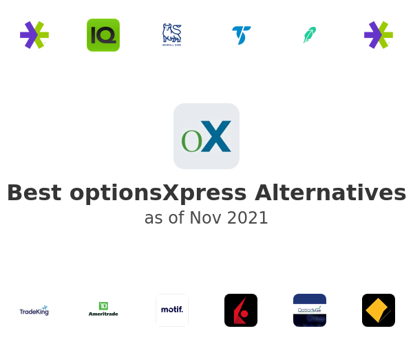 Best optionsXpress Alternatives