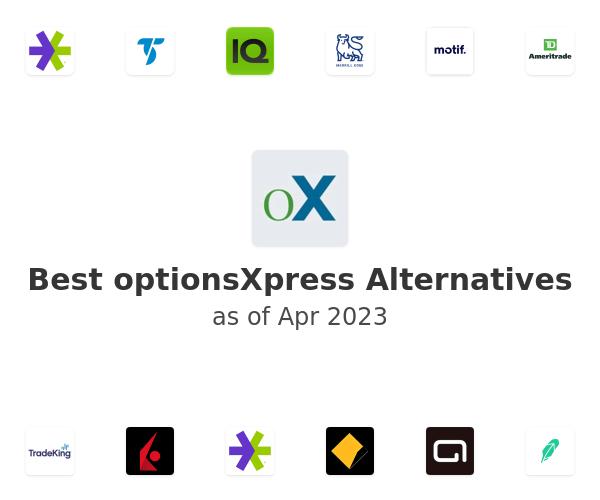 Best optionsXpress Alternatives