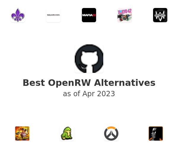 Best OpenRW Alternatives