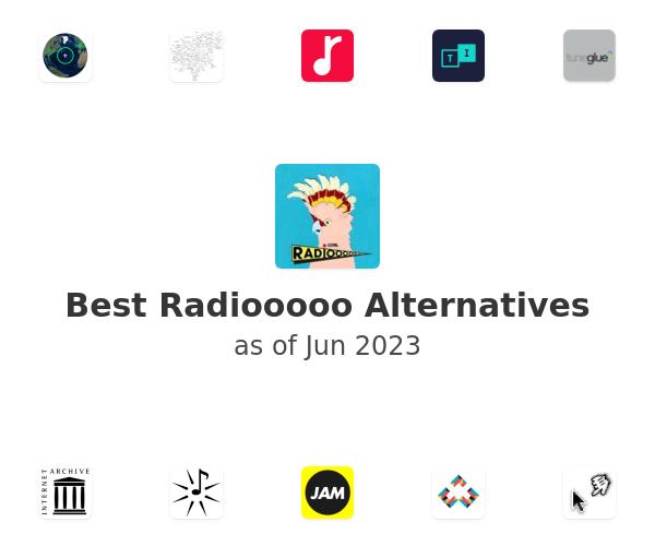 Best Radiooooo Alternatives