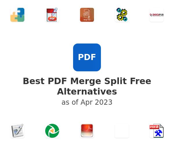 Best PDF Merge Split Free Alternatives
