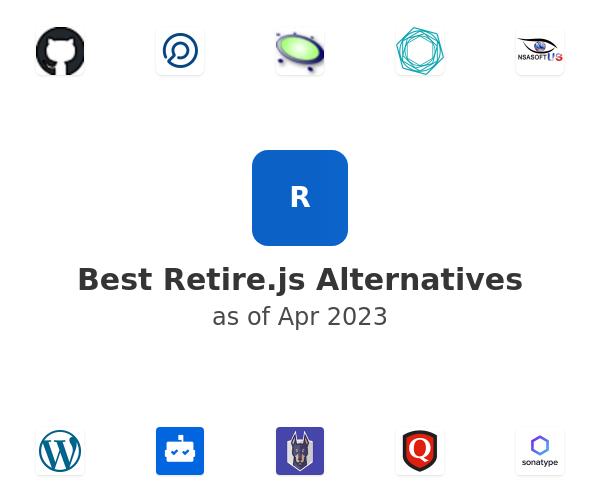 Best Retire.js Alternatives