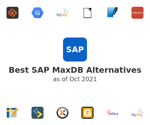 Best SAP MaxDB Alternatives