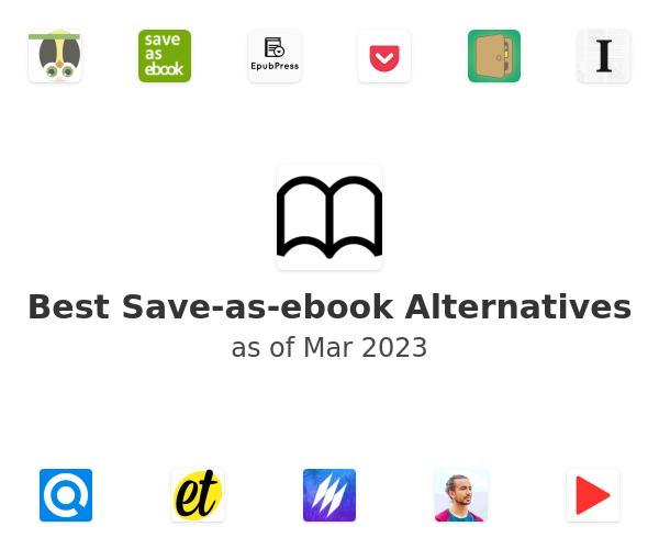 Best Save-as-ebook Alternatives