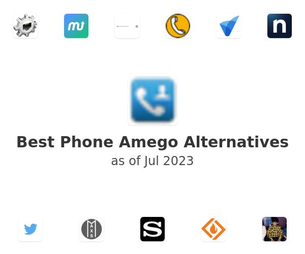 Best Phone Amego Alternatives