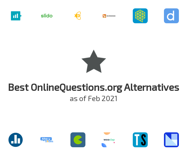 Best OnlineQuestions.org Alternatives