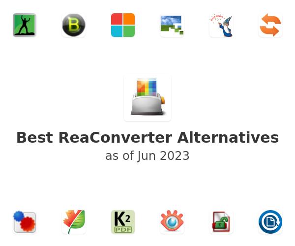 Best ReaConverter Alternatives
