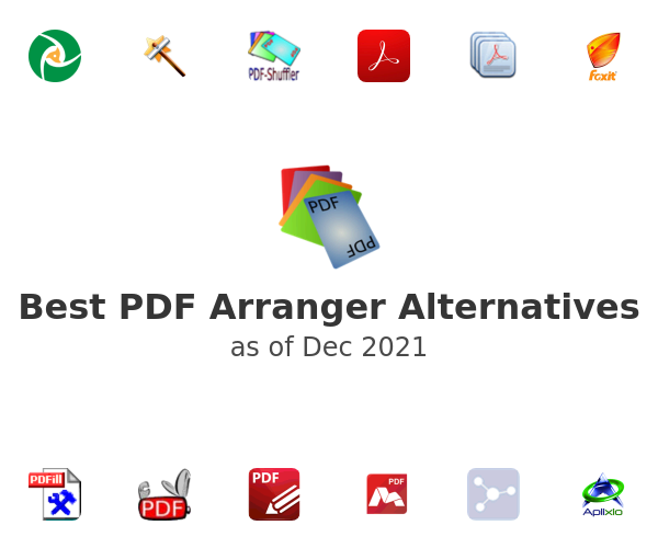 Best PDF Arranger Alternatives