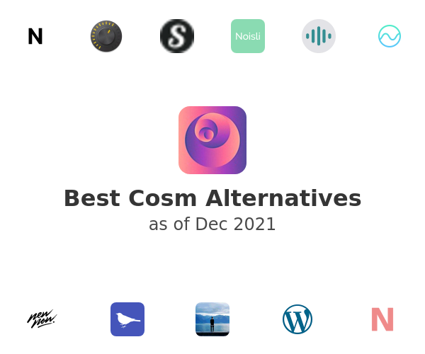 Best Cosm Alternatives