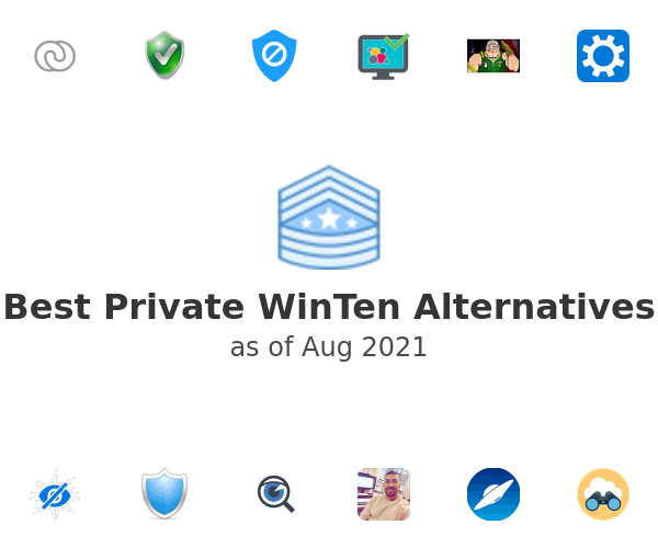 Best Private WinTen Alternatives
