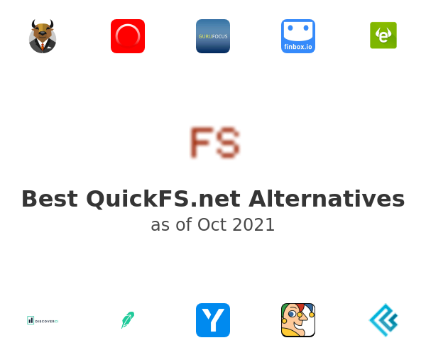 Best QuickFS.net Alternatives