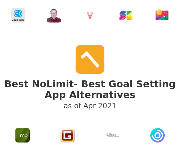 Best NoLimit- Best Goal Setting App Alternatives
