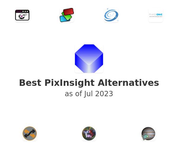 Best PixInsight Alternatives