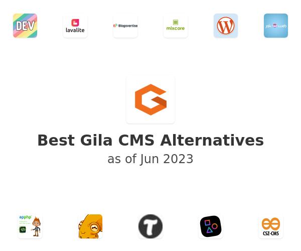 Best Gila CMS Alternatives