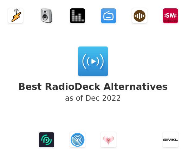 Best RadioDeck Alternatives