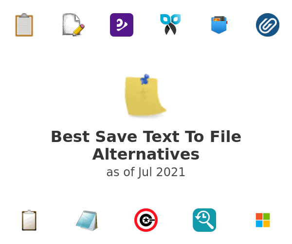 Best Save Text To File Alternatives