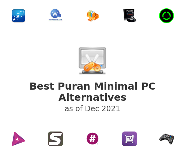 Best Puran Minimal PC Alternatives