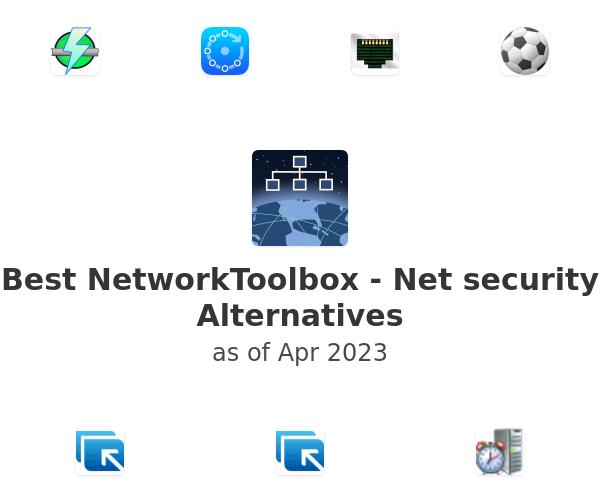 Best NetworkToolbox - Net security Alternatives