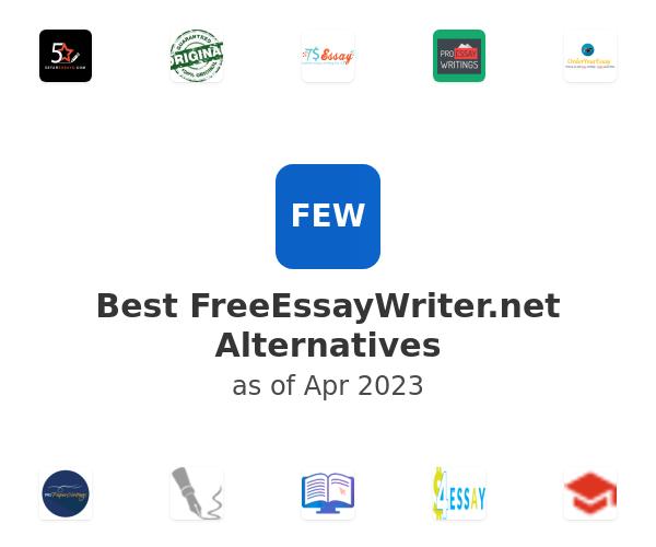 Best FreeEssayWriter.net Alternatives