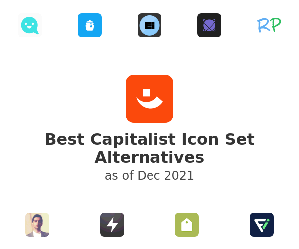 Best Capitalist Icon Set Alternatives