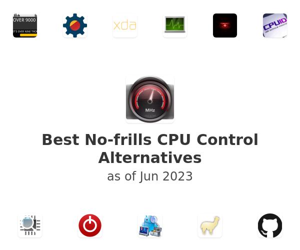 Best No-frills CPU Control Alternatives