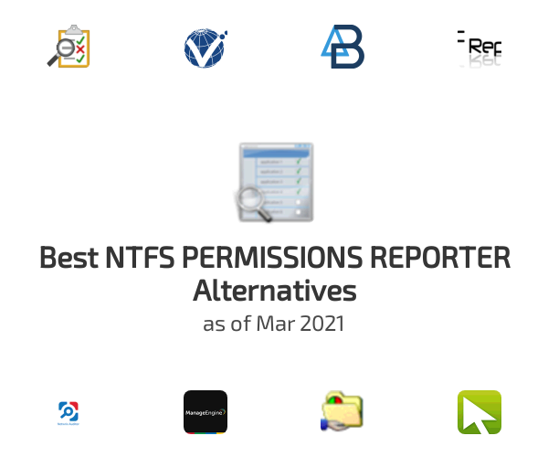 Best NTFS PERMISSIONS REPORTER Alternatives