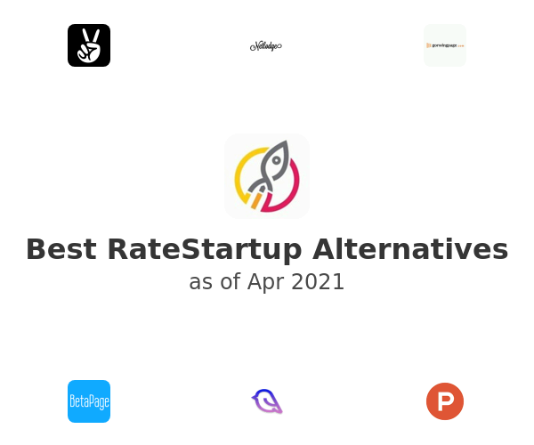 Best RateStartup Alternatives