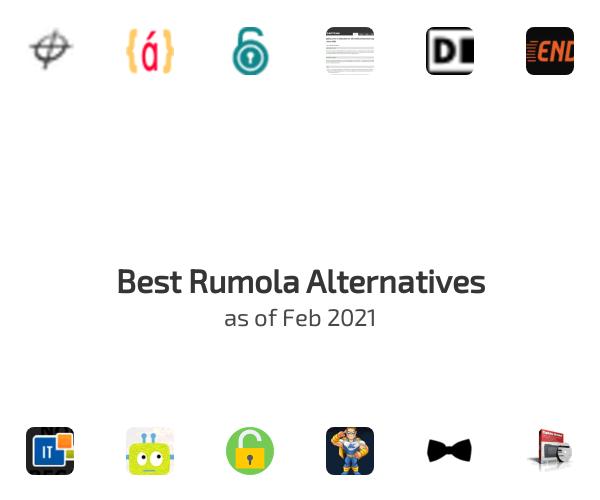 Best Rumola Alternatives