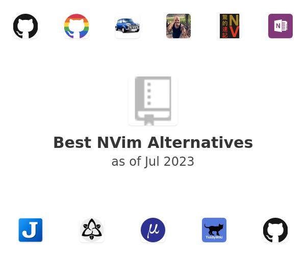 Best NVim Alternatives