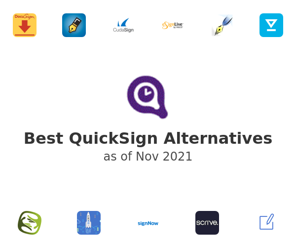 Best QuickSign Alternatives