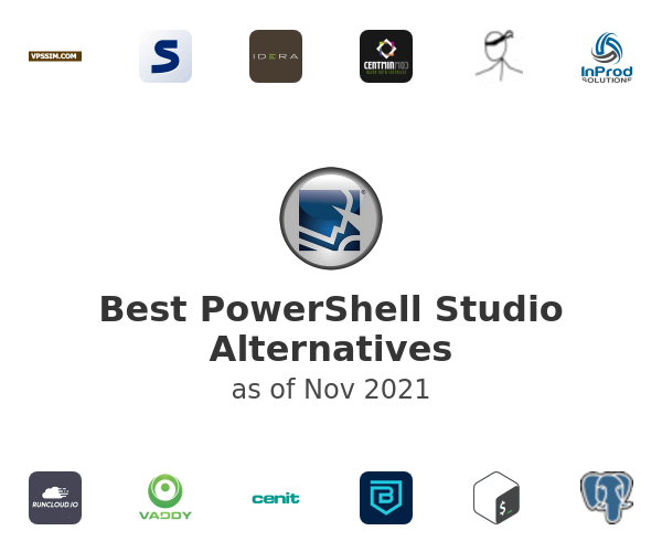 Best PowerShell Studio Alternatives