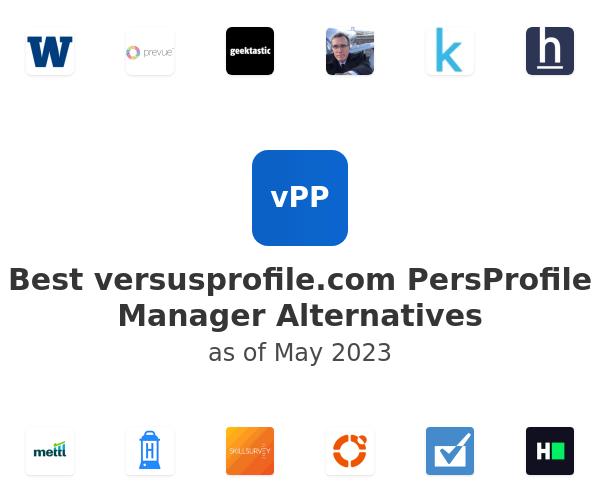 Best PersProfile Manager Alternatives